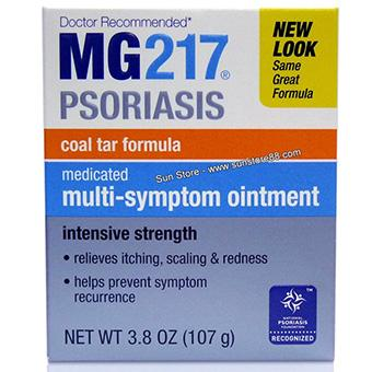MG217 Medicated Multi-Symptom Ointment, Intensive Strength強效軟膏 專治銀屑病(牛皮癬)、脂溢型皮炎